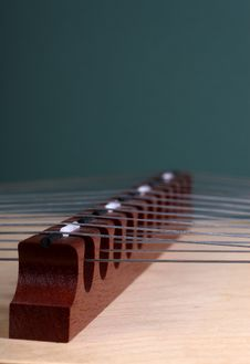 Hammer Dulcimer Stock Photo