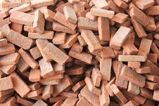 Free Stack Of Red Brick Stock Image - 21695201