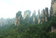 Amazing Rocks Mountain Stock Image