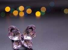 Free Glass Butterfly Royalty Free Stock Photos - 21697398