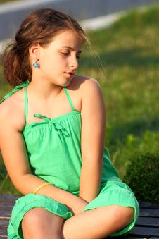 Free Girl Outdoor Stock Photography - 21697472
