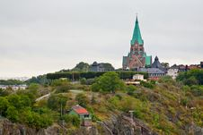 Free View On Sofia Church In Stockholm Royalty Free Stock Photo - 21698545