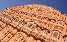 Free Hawa Mahal In Jaipur, India Royalty Free Stock Images - 21699439
