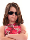 Free Girl With Attitude Royalty Free Stock Photography - 2173407