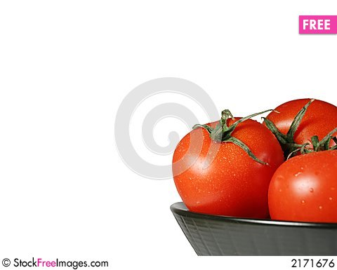 Free Tomatoes Royalty Free Stock Image - 2171676