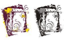 Free Ornamental Grunge Background Royalty Free Stock Photos - 2170138