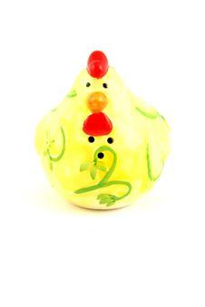 Free Easter Hen Saltsheacker Royalty Free Stock Photography - 2171577