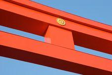 Giant Gate Royalty Free Stock Photos
