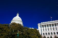 Free U.S. Capitol On A Sunny Spring Stock Image - 2171991