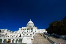 Free U.S. Capitol On A Sunny Spring Stock Images - 2171994