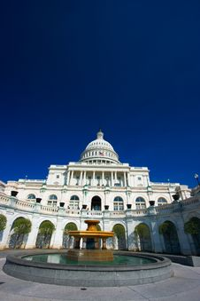 Free U.S. Capitol On A Sunny Spring Stock Image - 2172021