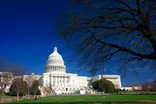 Free U.S. Capitol On A Sunny Day Stock Photo - 2172130