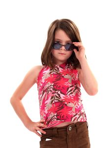 Free Girl With Attitude Stock Photos - 2173413