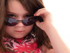 Free Girl With Attitude Stock Images - 2173444