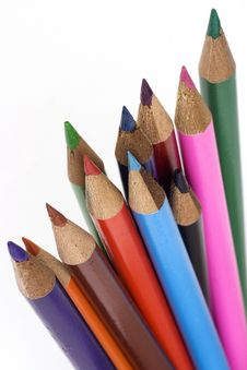 Free Colored Pencil Royalty Free Stock Image - 2175936