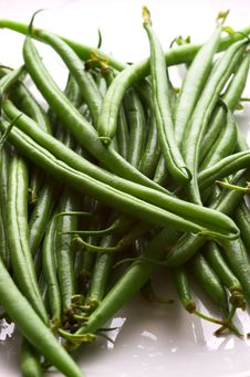 Free Fine Green Beans Royalty Free Stock Photo - 2176695