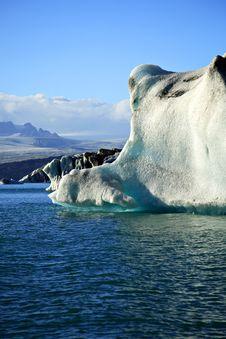Enormous Iceberg Stock Image