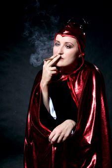 Free Smoking Devil Stock Images - 2177774