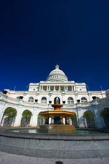 U.S. Capitol On A Sunny Spring Stock Image