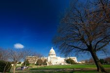 Free U.S. Capitol On A Sunny Day Stock Image - 2178011