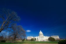 Free U.S. Capitol On A Sunny Day Stock Photos - 2178053