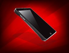 Touch Screen Cell Phone Stock Photography