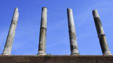 Free Roman Columns Royalty Free Stock Photos - 21703188