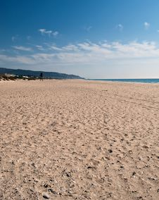 Free Beach Of Zahara Royalty Free Stock Images - 21706029