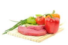 Free Beef And Vegetables Stock Image - 21706231
