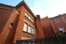 Free Reddish Mansion In Guell Park Royalty Free Stock Images - 21708399
