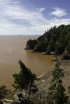 Free Hopewell Rocks Stock Images - 21709514