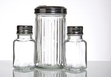 Free Glass Containers Royalty Free Stock Photography - 21714057