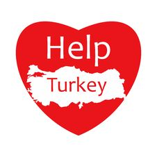 Help Turkey - Turkey Earthquake Royalty Free Stock Photos