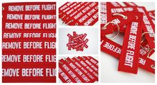 Free Remove Before Flight Ribbons Stock Image - 21719711