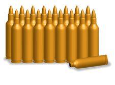 Free Bullet Golden Stock Photo - 21721130