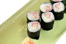 Free Sushi Stock Photography - 21721552