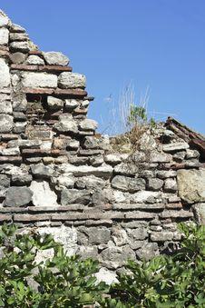 Free Old Wall, Raw Royalty Free Stock Photos - 21722398
