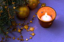 Free Christmas Decoration Royalty Free Stock Photo - 21722755