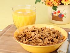 Free Cereal Breakfast Royalty Free Stock Photography - 21723767