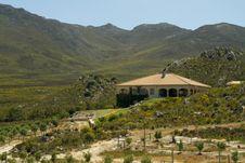 Luxury Summer Farm Spanish Style Villa Stock Images