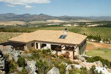 Luxury Summer Farm Villa Royalty Free Stock Images