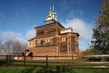 Free Moscow. The Wooden Church At Manor Kolomenskoe. Stock Image - 21725161