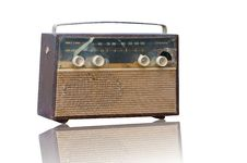 Free Vintage Fashioned Radio Royalty Free Stock Photography - 21727277