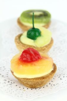 Tarts Royalty Free Stock Photo