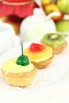 Free Tarts Royalty Free Stock Photo - 21728105