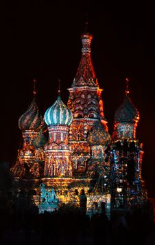 Free St. Basil Cathedral Stock Photography - 21728322