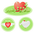 Free Many Kind Of Heart Royalty Free Stock Image - 21737346