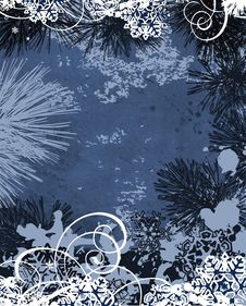 Free Winter Background. Royalty Free Stock Images - 21730579