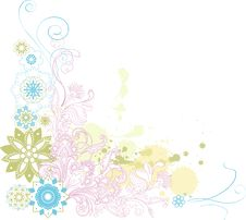 Free Abstract Floral Background. Stock Photo - 21730610
