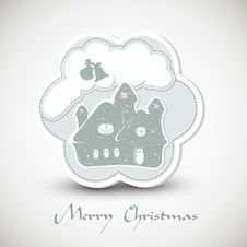 Free Christmas Greeting Card Royalty Free Stock Images - 21733229